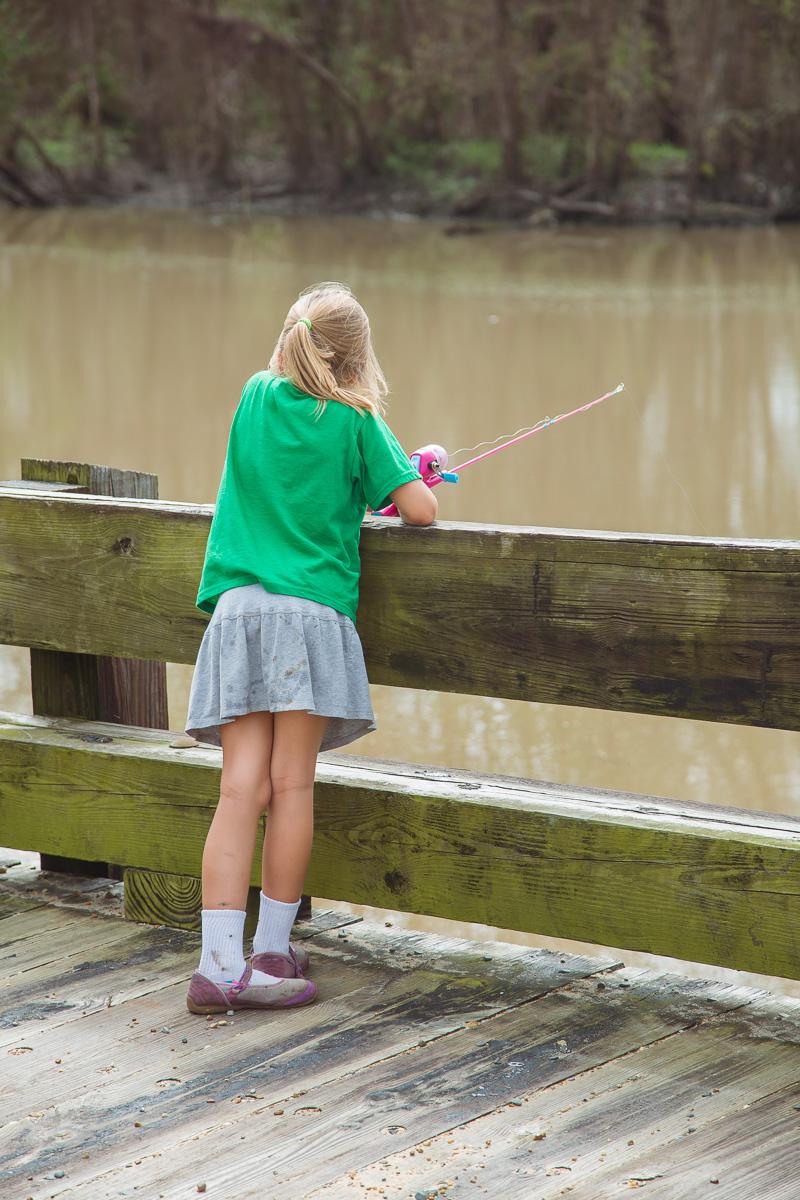 Little Angler Girl