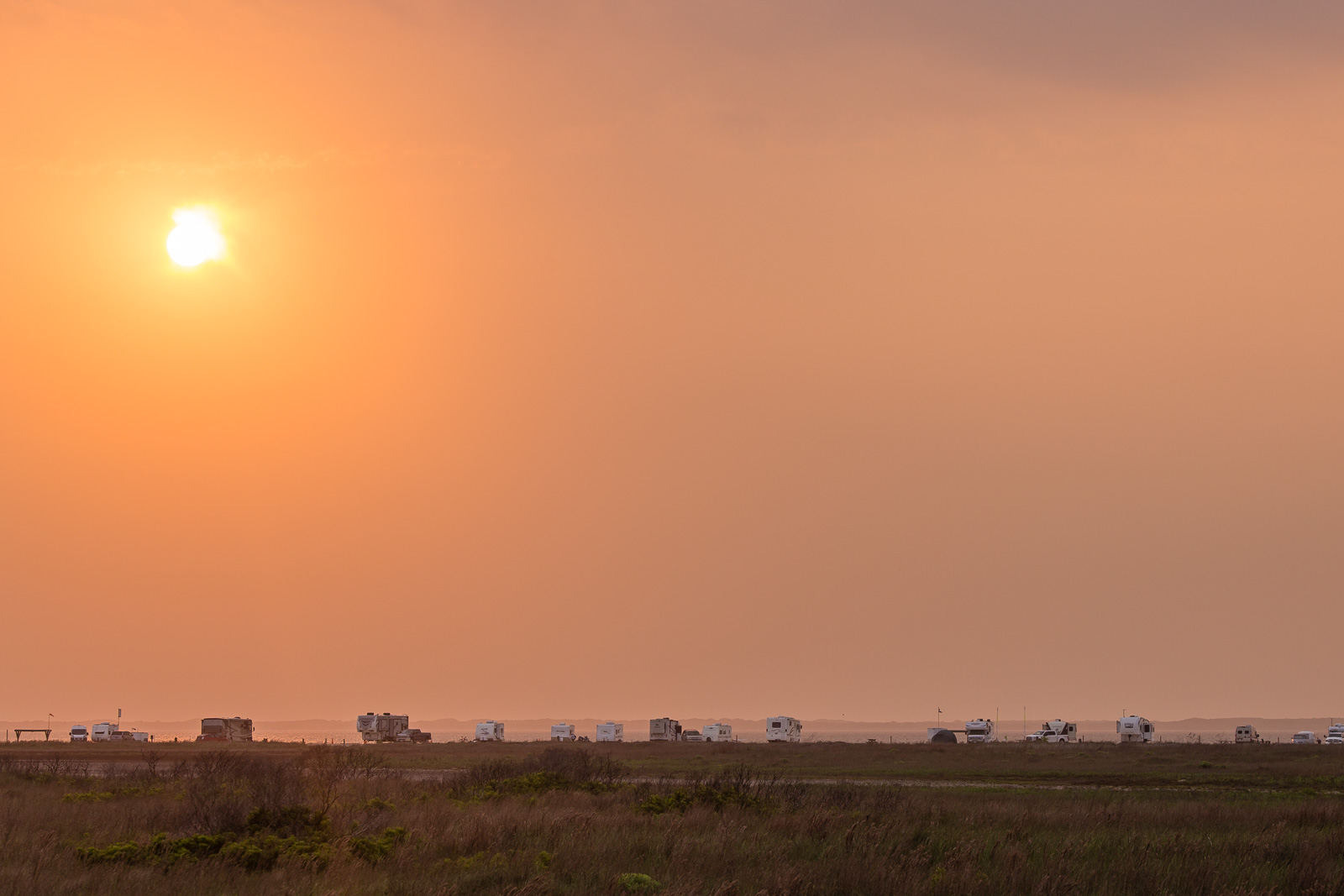 Sunset Over Bird Island Basin
