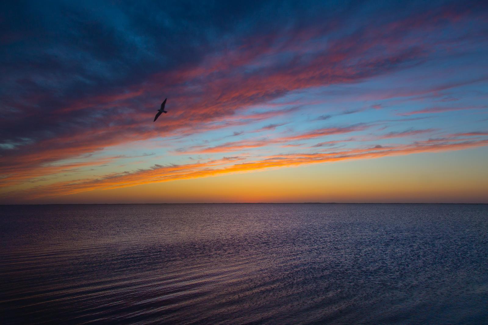 Padre Island National Seashore Sunset